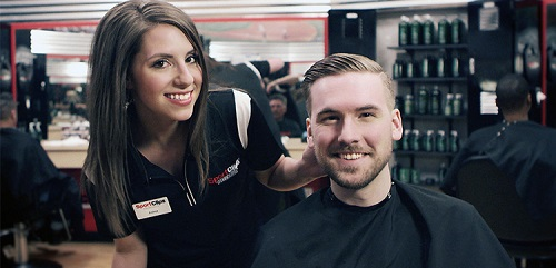 Sport Clips Haircuts of Sandy- South Towne​ stylist hair cut